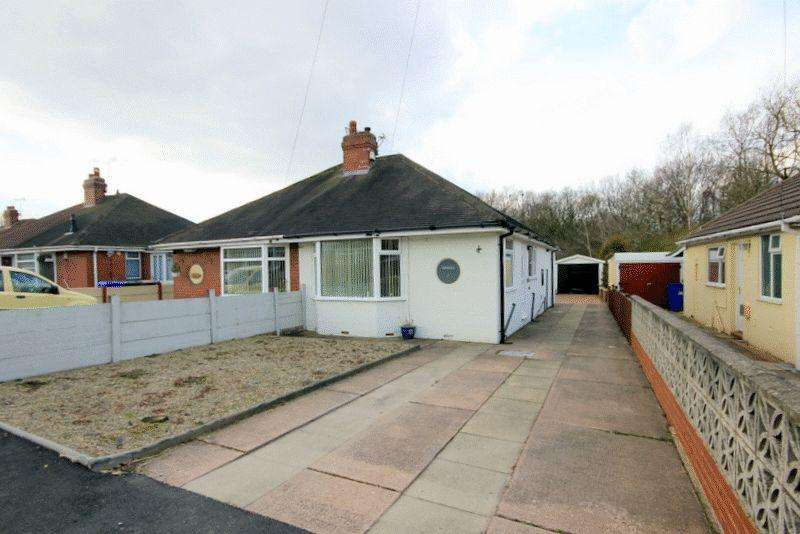 2 Bedrooms Bungalow for sale in Parkhead Crescent, Weston Coyney