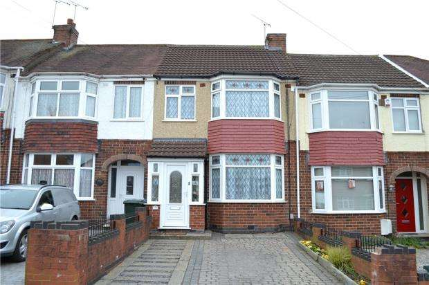 3 Bedrooms Terraced House for sale in Treherne Road, Coventry, West Midlands