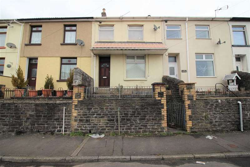 3 Bedrooms Terraced House for sale in Evans Terrace, Tonypandy