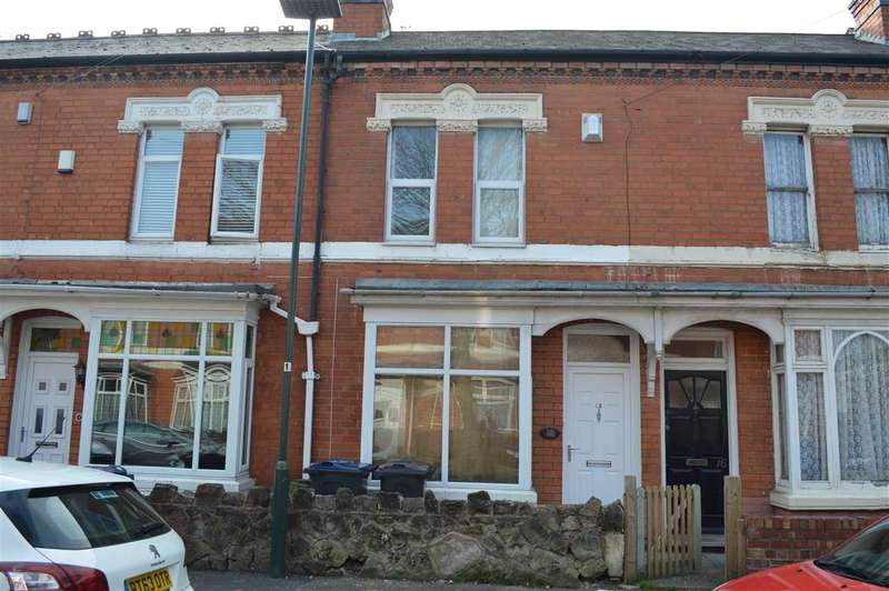 3 Bedrooms Terraced House for sale in Gladstone Road, Yardley, Birmigham