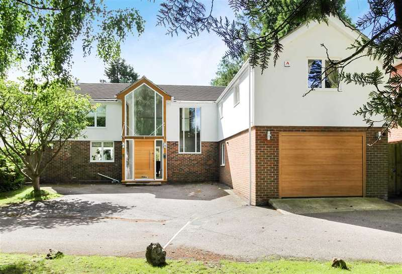 5 Bedrooms Detached House for sale in Worrin Road, Shenfield