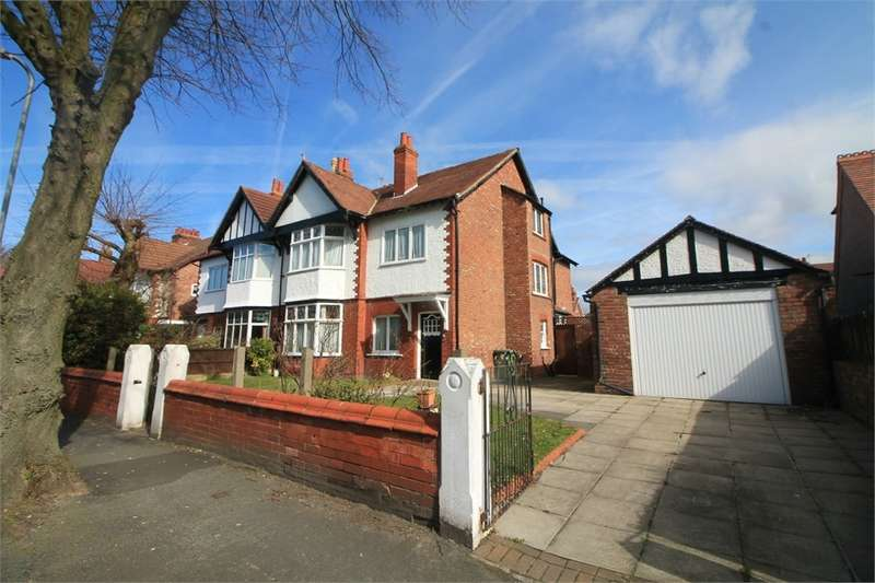 5 Bedrooms Semi Detached House for sale in Cambridge Road, BLUNDELLSANDS, LIVERPOOL, Merseyside