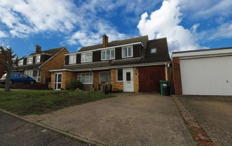 4 Bedrooms Semi Detached House for sale in Milton Drive, Newport Pagnell, Buckinghamshire