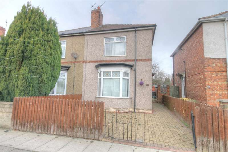 3 Bedrooms Semi Detached House for sale in Thompson Street East, Darlington, Co Durham, DL1