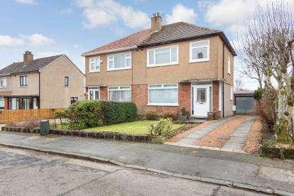 3 Bedrooms Semi Detached House for sale in Cairngorm Crescent, Bearsden