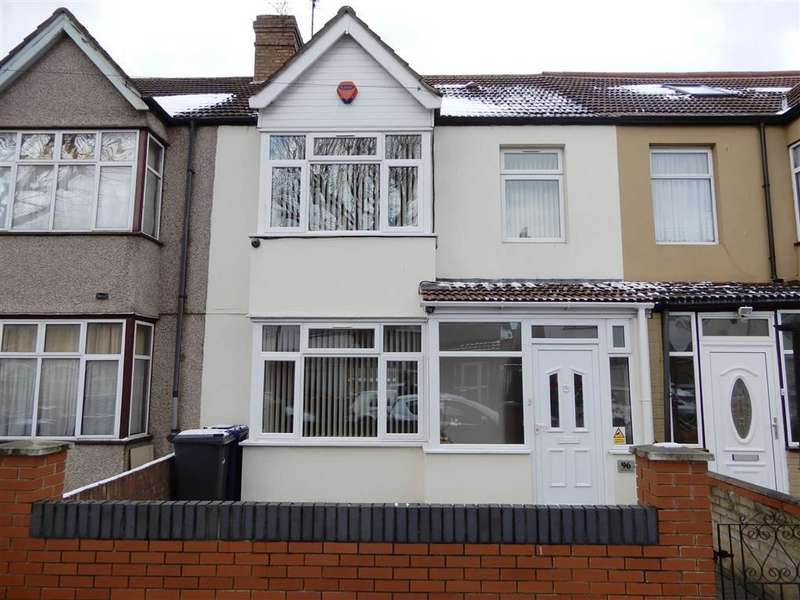 3 Bedrooms Terraced House for sale in Ranelagh Road, Southall, Middlesex