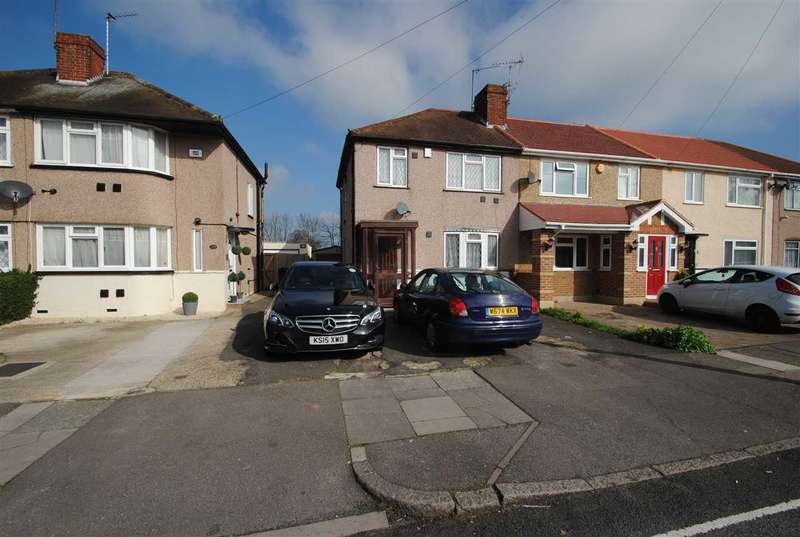 3 Bedrooms End Of Terrace House for sale in Northumberland Crescent, Bedfont