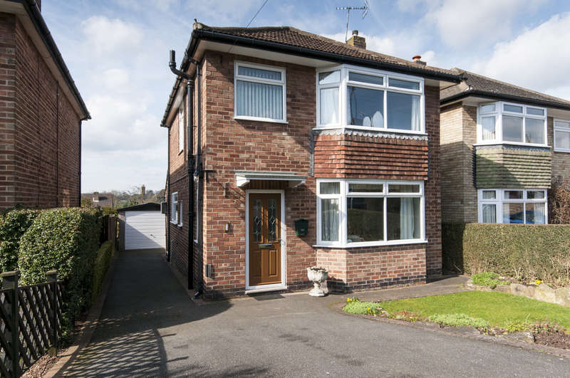 3 Bedrooms Detached House for sale in Crabtree Close, Allestree, Derby