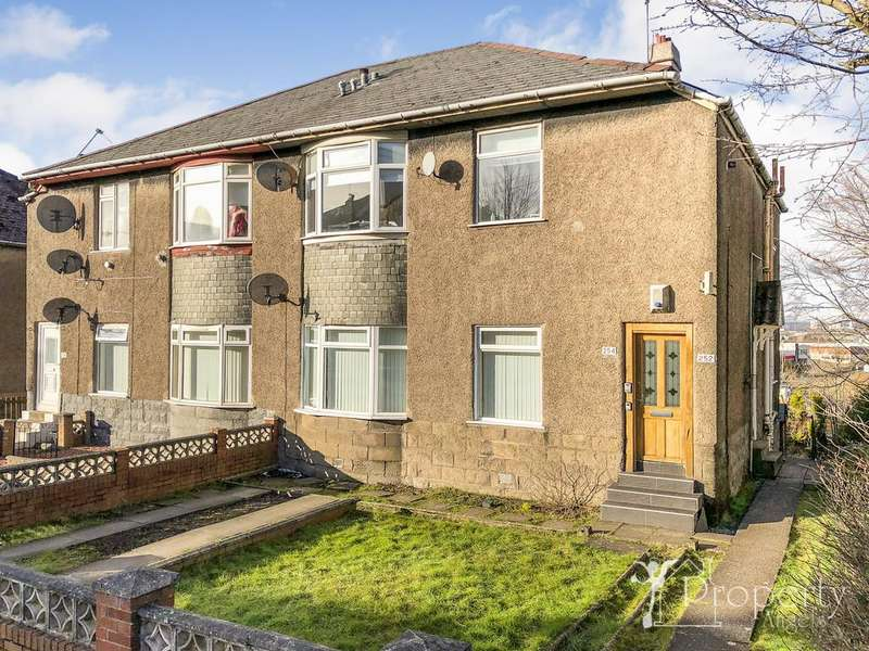 3 Bedrooms Maisonette Flat for sale in Chirnside Road, Hillington G52