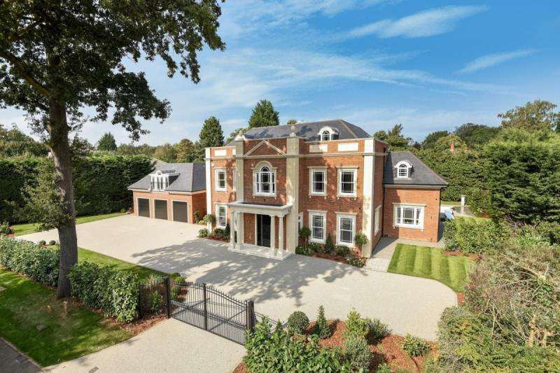 7 Bedrooms Detached House for sale in Cranley Road, Burwood Park, Walton-On-Thames, Surrey
