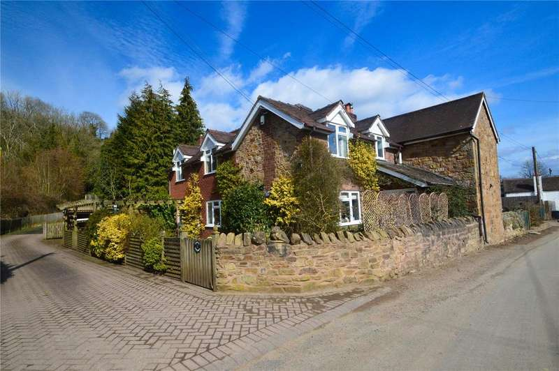 3 Bedrooms Semi Detached House for sale in Cherry Cottage, Oreton, Kidderminster, Shropshire, DY14