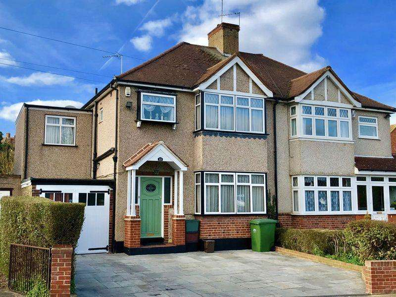 4 Bedrooms Semi Detached House for sale in Riverdale Road, Bexley