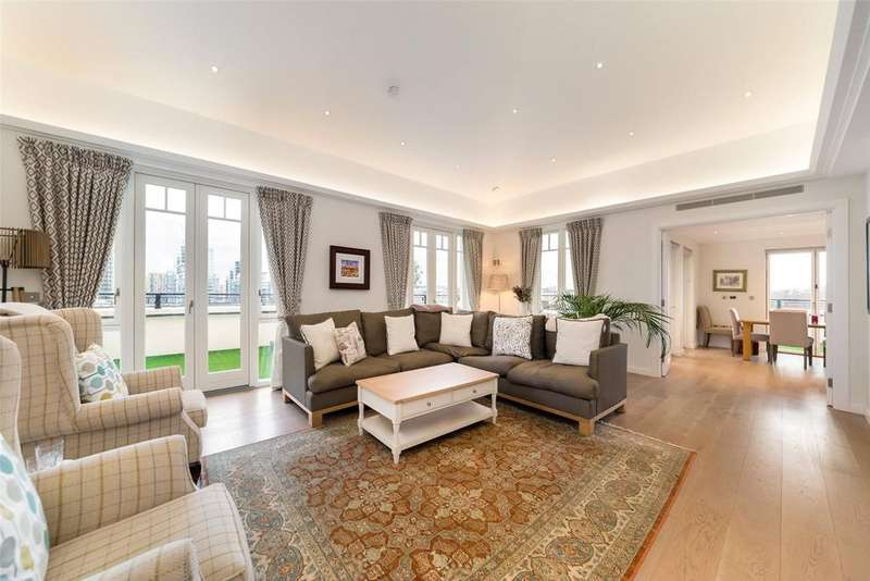 3 Bedrooms Penthouse Flat for sale in Higham House West, 102 Carnwath Road, London