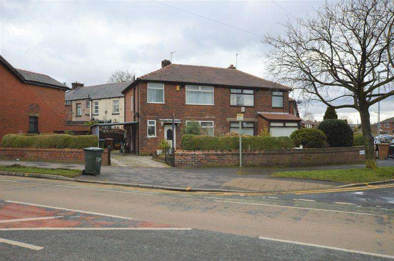 3 Bedrooms Semi Detached House for sale in Milnrow Road, Rochdale