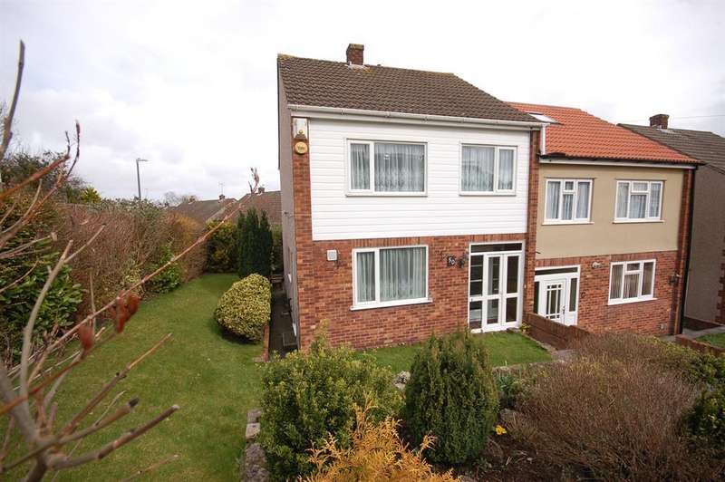 3 Bedrooms Semi Detached House for sale in Walnut Crescent, Kingswood, Bristol, BS15 4HU