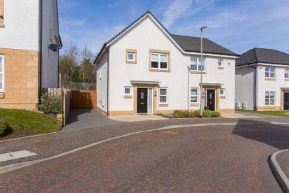3 Bedrooms Semi Detached House for sale in Mossbeath Gardens, Broomhouse, Glasgow, North Lanarkshire