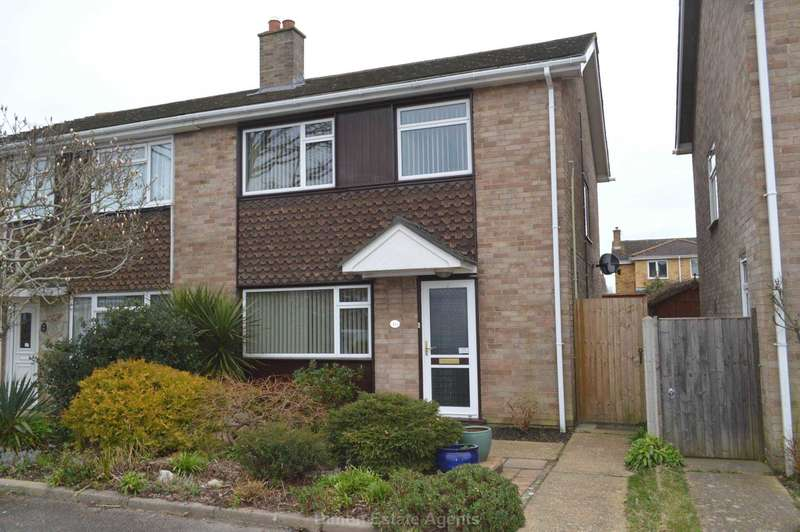 3 Bedrooms Semi Detached House for sale in Helsted Close, Gosport