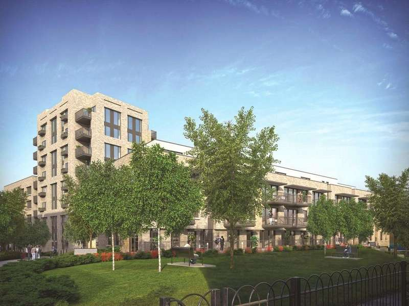 2 Bedrooms Flat for sale in Marine Wharf East, Marine Wharf East, Surrey Quays, London, SE16