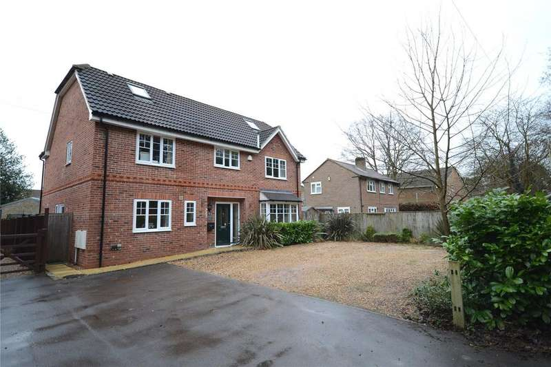 6 Bedrooms Detached House for sale in Hollybush Lane, Burghfield Common, Reading, Berkshire, RG7