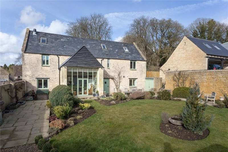 4 Bedrooms Detached House for sale in Shipton Oliffe, Cheltenham, GL54