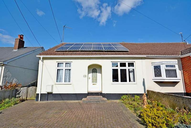 3 Bedrooms Semi Detached Bungalow for sale in Clare Road, Braintree, Essex, CM7