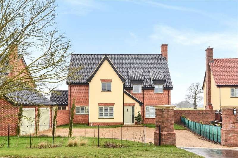 5 Bedrooms Detached House for sale in Norwich Road, Brooke, Norwich
