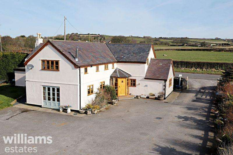 4 Bedrooms Equestrian Facility Character Property for sale in Marian, Trelawnyd