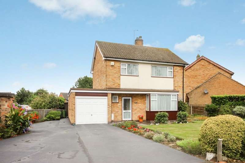3 Bedrooms Detached House for sale in Leicester Road, Ravenstone