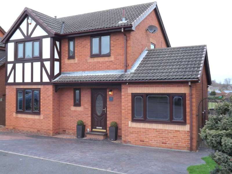 4 Bedrooms Detached House for sale in Oak Tree Road, Clowne, Chesterfield
