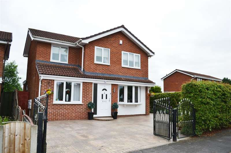 4 Bedrooms Detached House for sale in Congresbury Road, Leigh