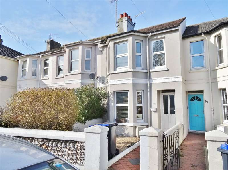 3 Bedrooms Terraced House for sale in Kingsland Road, Broadwater, Worthing, BN14