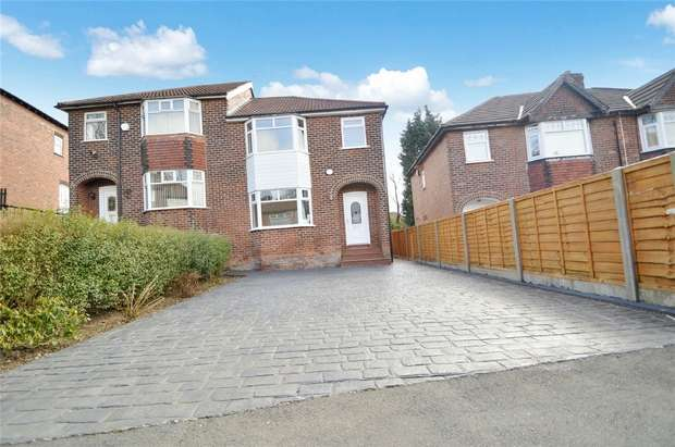 3 Bedrooms Semi Detached House for sale in Windsor Drive, Bredbury, Stockport, Cheshire