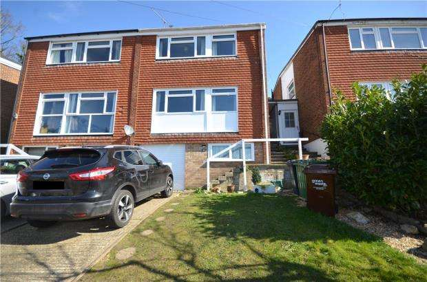 4 Bedrooms Semi Detached House for sale in Connop Way, Frimley, Camberley
