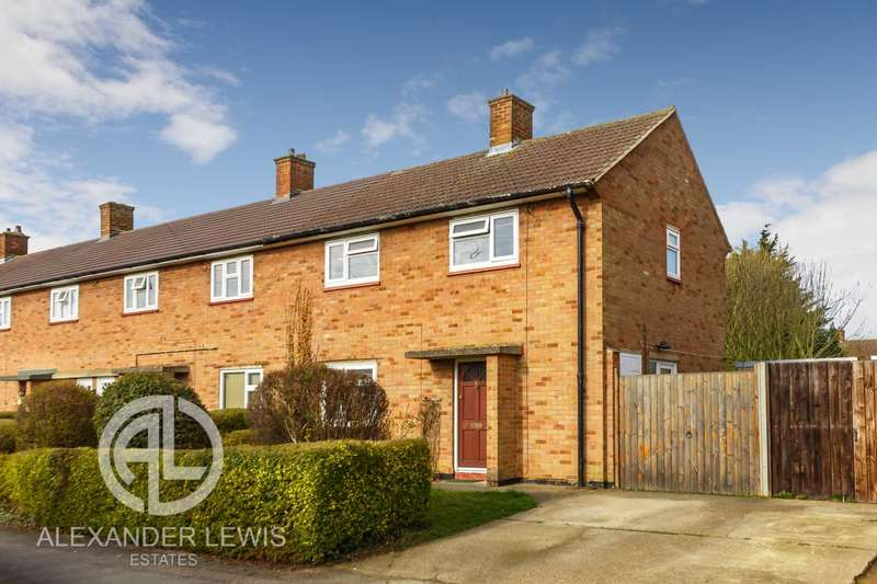 3 Bedrooms End Of Terrace House for sale in Whitehicks, Letchworth Garden City SG6 4QA