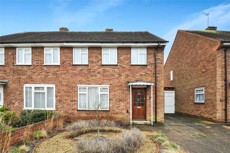 3 Bedrooms Semi Detached House for sale in St. Nicholas Close, Uxbridge, Middlesex, UB8