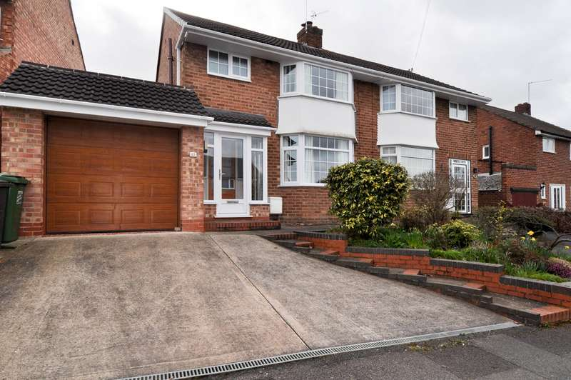 3 Bedrooms Semi Detached House for sale in Larkfield Road, Redditch, B98