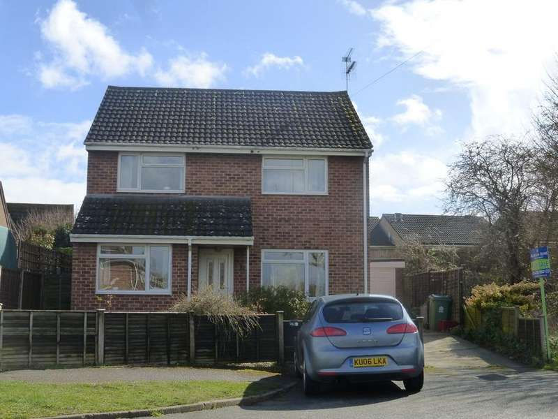 3 Bedrooms Detached House for sale in Armscroft Place, Gloucester, Gloucester, GL2