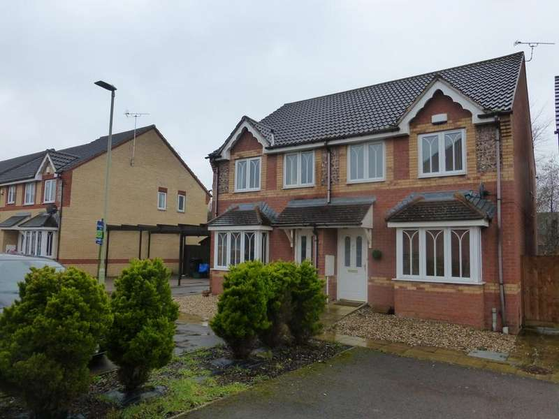 3 Bedrooms Semi Detached House for sale in Mead Road, Abbeymead, Gloucester, GL4