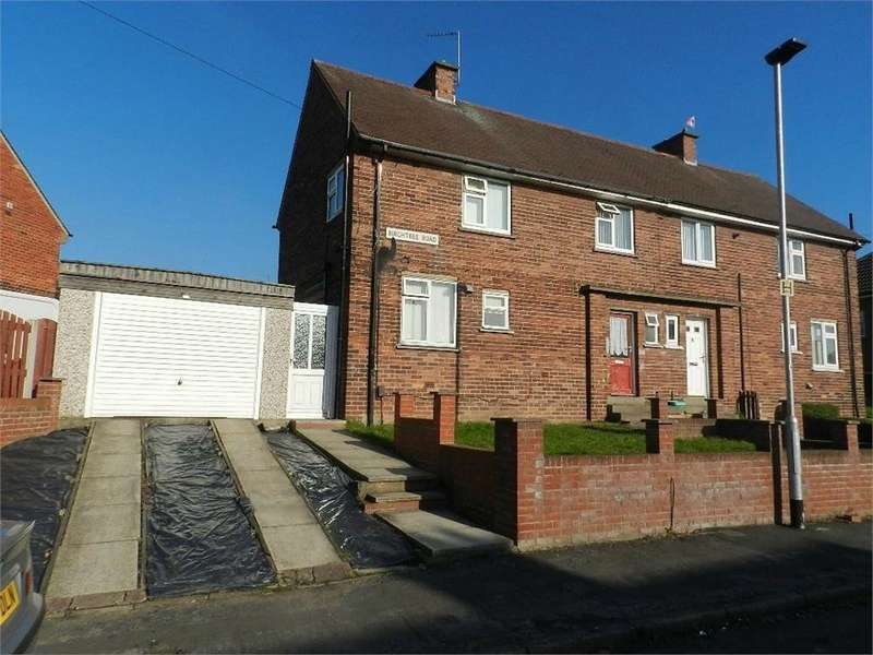 3 Bedrooms Semi Detached House for sale in Birchtree Road, Thorpe Hesley, ROTHERHAM, South Yorkshire