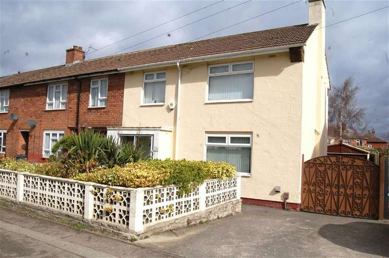 3 Bedrooms End Of Terrace House for sale in Milton Road, Ellesmere Port