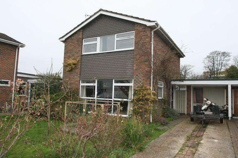 3 Bedrooms Detached House for sale in Kithurst Close, Worthing