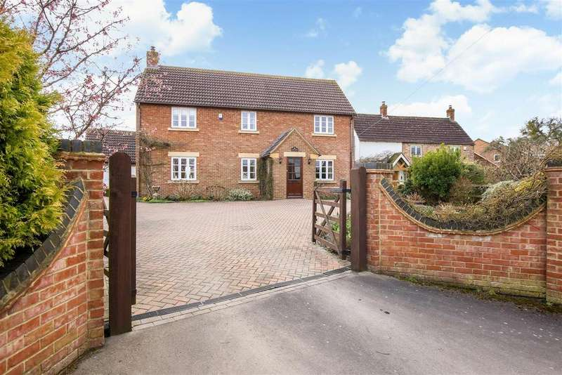 4 Bedrooms Detached House for sale in Church Lane, Saul