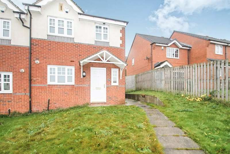 3 Bedrooms Semi Detached House for sale in Wharfedale Close, Bramley, Leeds