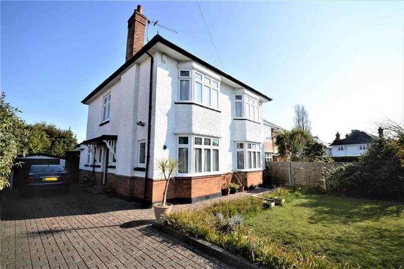 4 Bedrooms Detached House for sale in Albemarle Road, Bournemouth, Dorset, BH3