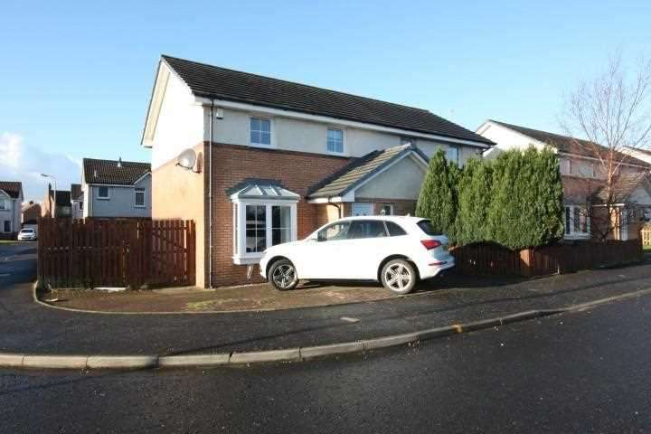 3 Bedrooms Semi Detached House for sale in Thornyflat Crescent, Ayr