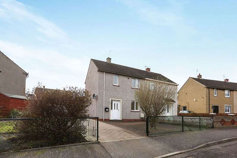 2 Bedrooms Semi Detached House for sale in Arthur View Terrace, Danderhall, Dalkeith, EH22