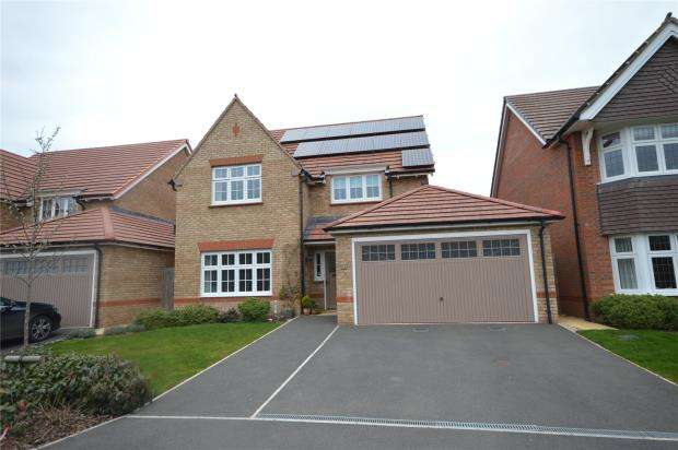 4 Bedrooms Detached House for sale in Tokesen Drive, The Harringtons, Exeter, Devon