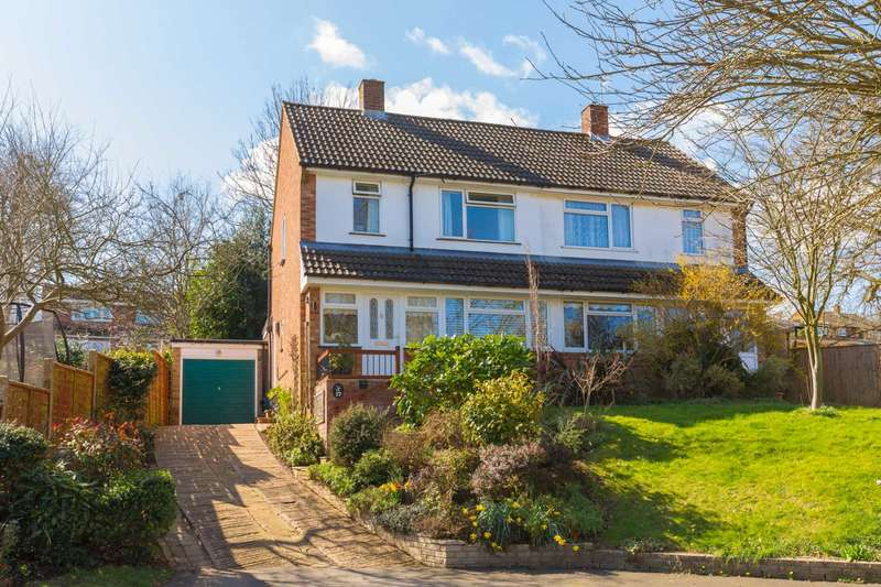 2 Bedrooms Semi Detached House for sale in St. Margarets Close, Berkhamsted