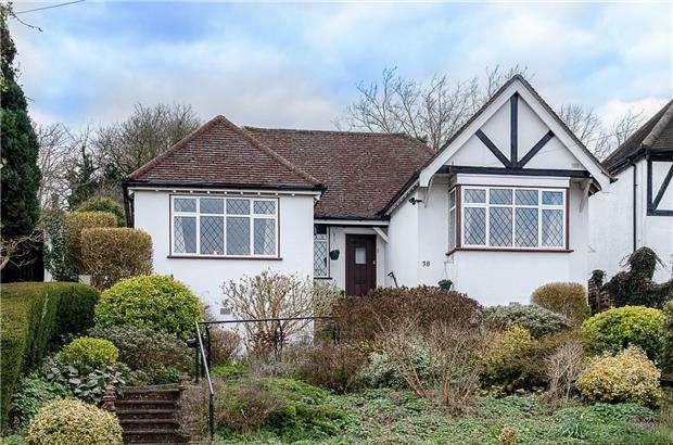 3 Bedrooms Detached Bungalow for sale in Riddlesdown Avenue, PURLEY, Surrey, CR8 1JJ
