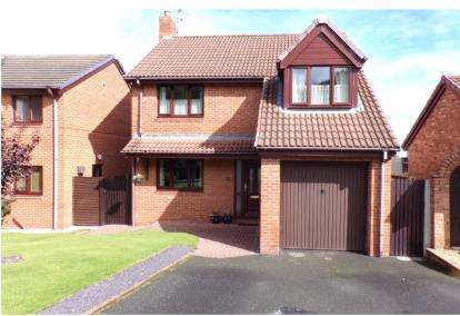 4 Bedrooms Detached House for sale in Ffordd Tan'r Allt, Abergele, Conwy, North Wales, LL22